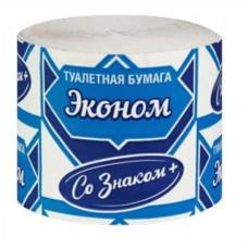 Туалетная бумага СОТКА Эконом со знаком
