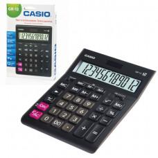Калькулятор настольный 12 разр CASIO GR-12-W двойное питание 209х155 мм