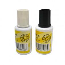 Набор DOLCE COSTO - корректирующая жидкость с кистью + разбавитель 2флакона по 20мл 147
