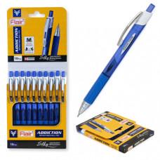 Ручка шар.авт. синяя 0,7 мм. Flair ADDICTION, пластик