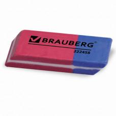 "Набор ластиков 4 шт, 41х14х8 мм, BRAUBERG ""Assistant 80"", .,  красно-синие,"