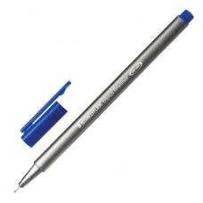 "Ручка капиллярная  0,3  мм, синяя STAEDTLER ""Triplus Fineliner"", трехгранная,334-3"