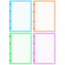 Сменный блок А5 200 л.кл 4 цвета OfficeSpace, дизайнерский блок, пленка т/у