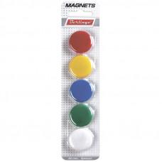 Магниты для досок 3 см, 5 шт, европодвес