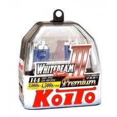 KOITO Whitebeam III P0744W H4 4500K 12V 60/55W (135/125W) 2 шт