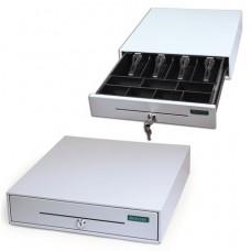 """Ящик денежный для кассира """"Меркурий 100.1"""", малый, 384х358х88 мм, отд. для монет - 7, для купюр -4"""