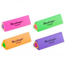 "Ластик Berlingo ""Triangle"", треугольный, термопластичная резина, 44*15*15мм"