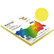 Бумага Master Color А4, 80 г/м, 50 л. канареечно-желтый