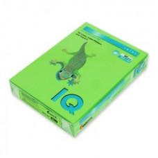 Бумага IQ (АйКью) color, А4, 80 г/м2, 500 л., интенсив ярко-зеленая, MA42