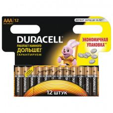Батарейка LR03 ААА DURACELL BASIC  Alkaline 12  шт/уп