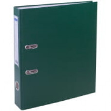 Пaпкa-регистратор 50 мм бумвинил зеленая, с карманом на корешке OfficeSpace