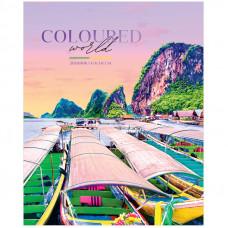 "Дневник 1-11 кл. 40л. ""Путешествия. Coloured world"", ВД-лак"