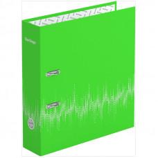 """Папка-регистратор 70 мм ламинированная неоновая зеленая Berlingo """"Neon"""""""