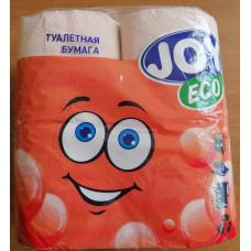 Туалетная бумага 2-х сл. 4шт/уп персиковая JOY Land Эко