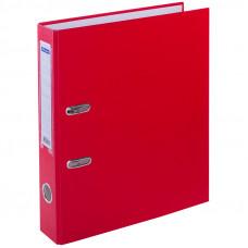 Пaпкa-регистратор 50 мм бумвинил красная, с карманом на корешке  OfficeSpace