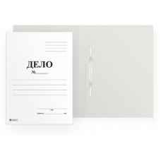 Скоросшиватель Дело 400 г/м2  до 300 листов мелованный картон Lamark