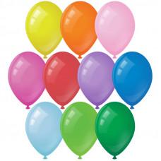 Воздушные шары, 10шт., M10/25см, ArtSpace, пастель, 10 цветов ассорти