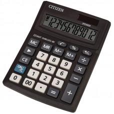 Калькулятор настольный 10 разр Citizen Business Line CMB, двойное питание, 100*136*32мм, черный