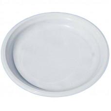 Тарелка  d220мм белая Интеко 50 шт/уп плотная