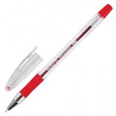 """Ручка шариковая масляная с грипом BRAUBERG """"Model-XL"""" ORIGINAL, КРАСНАЯ, узел 0,7 мм, линия письма 0"""