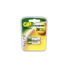 Аккумулятор GP AAA 1000 mAh (2 шт. блистер) [GP100AAAHC-2CR2] никель-металлогидридные 27885