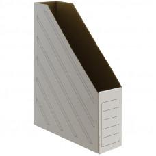 Лоток картонный 75мм, белый OfficeSpace до 700л.