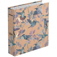 "Папка-регистратор 70 мм крафт-бумага с рисунком Berlingo ""Hummingbird"""