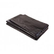 Мешки для мусора 120л 50шт/уп 40 мкм черные пласт ПНД 70*110см