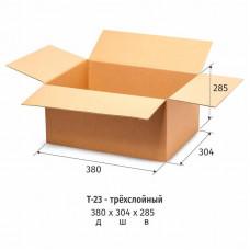 Гофрокороб 380*304*285мм, Т-23 бурый