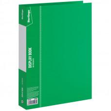 """Папка 80 вкладышами Berlingo """"Standard"""", 30мм, 800мкм, зеленая"""