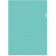 Папка-уголок А4 150мкм, прозрачная зеленая  OfficeSpace