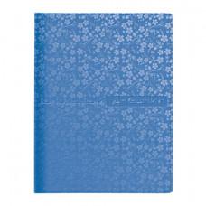 """Дневник для 1-11 классов, обложка кожзаменитель, термотиснение, АЛЬТ, """"VELVET FASHION COSMO"""" (голубо"""