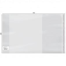 Обложка 280*450 для учебников, универсальная, с липким слоем, ПП 70 мкм