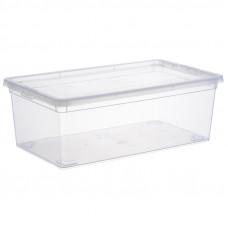 Ящик для хранения Idea, 5,5л, с крышкой, 34*19*12cм