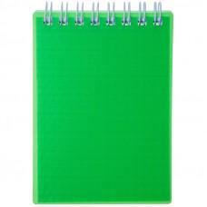 """Блокнот А5 80л. на гребне Hatber """"Diamond Neon- Зеленый"""""""