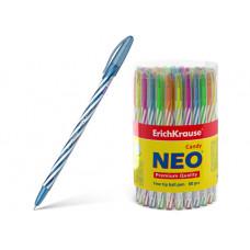 "Ручка шар. синяя 0,7 мм. ERICH KRAUSE ""Neon Candy"""