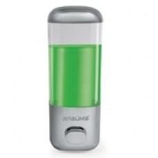 Диспенсер для жидкого мыла ЛАЙМА, наливной, 0,5 л, ABS-пластик, хром, мыло 600189-190, 601431-433,