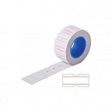 Этикет-лента 21*12 мм, белая, 800 этикеток
