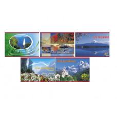 """Альбом для рисования 40л., А4, на скрепке Hatber """"Ландшафты Европы"""""""