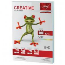 Бумага CREATIVE color (Креатив), А4, 80 г/м2, 250 л. (5 цв. х 50 л.), цветная пастель, БПpr-250r