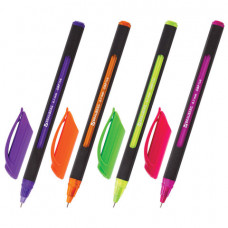 "Ручка шар. синяя 0,7 мм. BRAUBERG  ""Extra Glide Soft Color, игол. узел , линия 0,35 мм, масляная"