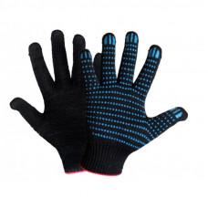 Перчатки ХБ 4 нити 10 класс (цв. черный)