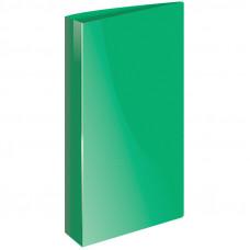 """Папка с 40 вкладышами, зеленая 21мм, 500мкм Berlingo """"Line"""""""