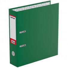 "Папка-регистратор 70 мм ПВХ зеленая с карманом на корешке, Berlingo ""Profit"""