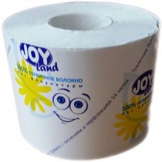 Туалетная бумага JOY Land 54м Белая со втулкой