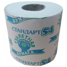 Туалетная бумага Стандарт 54 со втулкой