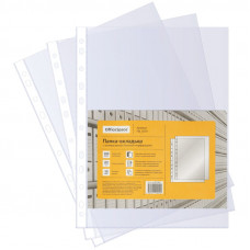 Файл-вкладыш А4 30 мкм гладкие OfficeSpace