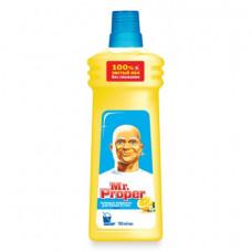 """Ср-во д/пола и стен 0,75л, MR.PROPER (Мистер Пропер) """"Лимон"""""""