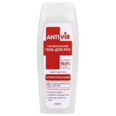 Гель для рук ANTIVIR антибактериальный гигиенический с экстрактами алоэ и шалфея, 100 мл