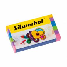 Ластик Silwerhof Пластилиновая коллекция ассорти